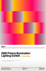 2008 Prisma Illumination Lighting Exhibit Poster (_Untitled-1) Tags: lighting poster design graphic swiss illumination optical exhibit illusion osaka network prisma opart
