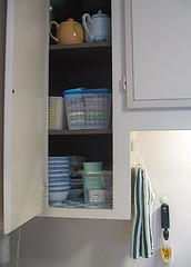 Kitchen cupboard #1