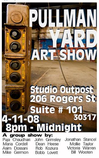 Pullman Yard Art Show