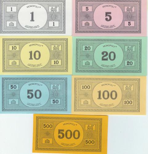Billetes del Monopolio