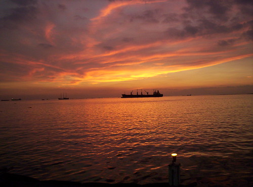 Manila bay sunset : 3