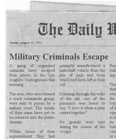 Spoof Newspaper