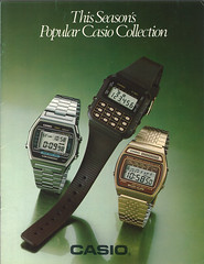 front page (klayymann) Tags: vintage watches casio catalog 1980