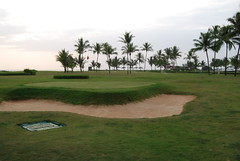 9 hole golf course by goa beach (pallav moitra) Tags: beach goa anjuna panjim mandovi zuari baghator