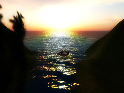 Fishing with Friends in Second Life