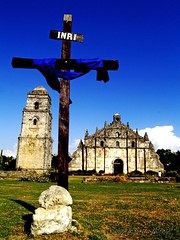 paoay church and bell tower on a holy week (Angkulet) Tags: travel ilocos paoaychurch