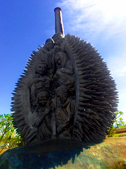 Durian Sculpture, Davao International Airport