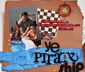 ye pirate ship