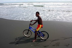 Beneraf cyclist (Mangiwau) Tags: ocean boy sea beach boys bike kids children indonesia bmx cyclist masi biker kampung papua kampong rider anus irja sepeda wakde keder sarmi papouasie yamna kumamba beneraf betaf