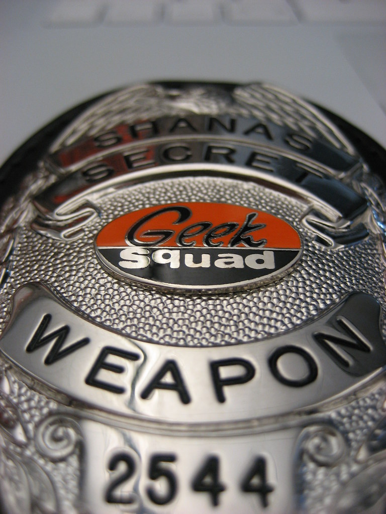 Geek Squad Deputy Badge The World's Best Photo...