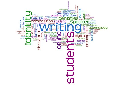 Tagcloud for Area Cluster 106 (Information Technologies), CCCC 2007 (wordle)
