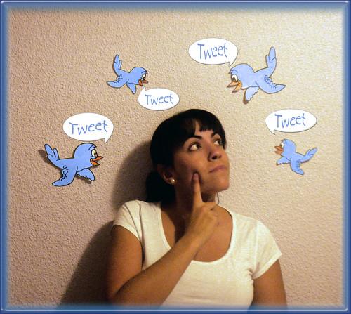 Pajaritos de twitter