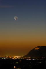 tramonto di casa (tonyinthecountry) Tags: sunset italy italia tramonto moonlight nightscene brescia calvagese tonyinthecountry