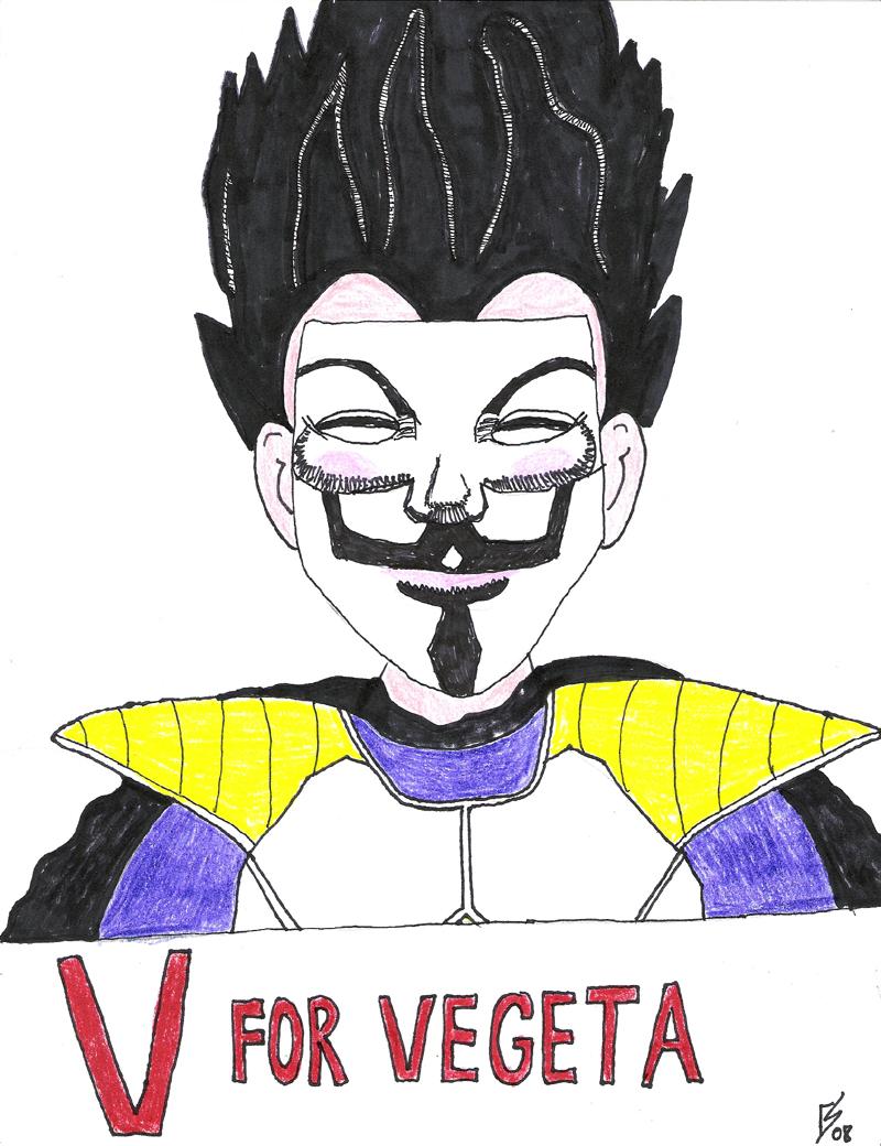 V for Vegeta