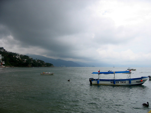 Our water taxi to Yelapa