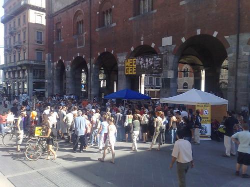 No allo Scudo Spaziale - Milano