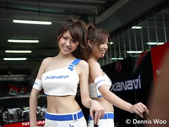 P1070196 (denniswoo) Tags: girls japan race japanese walk super pit queen walkabout babes gt sepang pitwalk racequeen pitwalkabout
