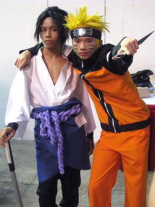 naruto and his friend