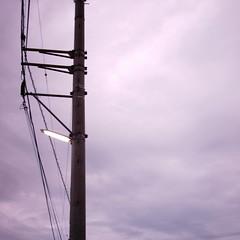 【写真】ミニデジで撮影した電灯