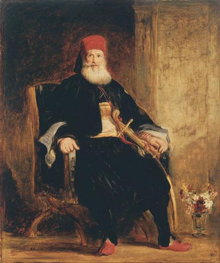 David Wilkie, His Highness Muhemed Ali, Pacha of Egypt, 1841