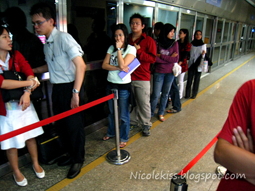 lrt queue in malaysia