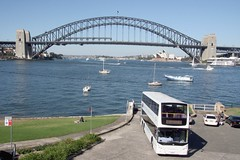 Alexander Dennis Enviro 500 in Blues Point Road, McMahons Point, Sydney Harbour, Australia. (express000) Tags: sydneyoperahouse sydneyharbourbridge sydneyharbouraustralia alexanderdennisenviro500 busesinaustralia
