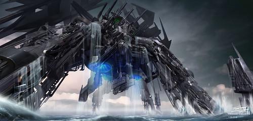 Transformers 2 concepto porta-aviones