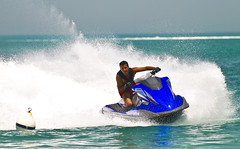 Summer Fun (Fahad Al Nusf) Tags: new blue summer me water digital speed nikon asia gulf jet middleeast ku arab yamaha kuwait watersports splash 2008 jetski turning sho fahad kw arabiangulf q8 watersport 70200mm bnaider kwt   d80  nikon70200mm nikond80 fenyn mutair fahadalnusf alnusf   fajhan fajhanalmutairy nusef nusif
