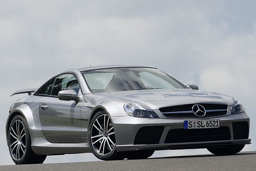Mercedes SL 65 AMG Black Series 2