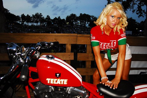 The Lost Photographs of Brass Balls' Biker Chick - Megan