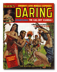 The Willing Women of Samoa (extrabox) Tags: boy woman game vintage magazine death call pacific sweden spears ephemera samoa scandal satans islanders daring willing leopards morals henchman startling vintagemagazine willingwoman