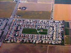 sprawl (Uncle Kick-Kick) Tags: california farm aerial development centralvalley sacramentocounty sacramentovalley urbansprawl