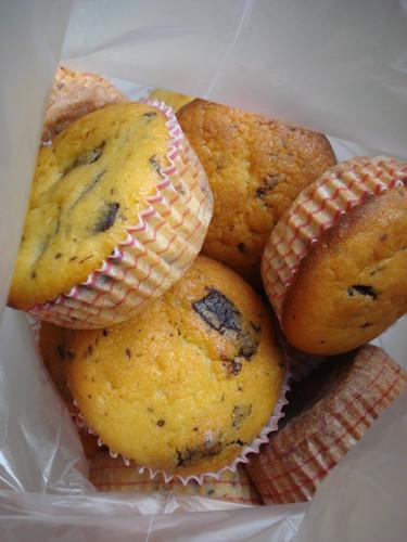yoğurtlu, çikolatalı muffin 004
