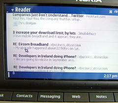 iReader on E90