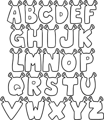 Alfabeto Shrek   Upload Feito Originalmente Por Gente_mi  Da