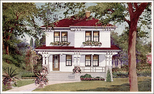 Sears Honor-Bilt Homes - 1935 - Cottages - Minimal Traditional