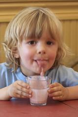 tatreaux and the strawberry lemonade (cmacphotography) Tags: portrait boys portland d2x maine 2008 strawberrylemonade age4 tatreaux