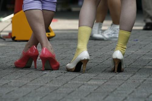 Scarpe e Calzini Multicolor