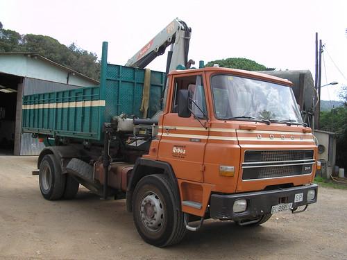 Dodge de l'empresa TRANSPORTS RIBAS
