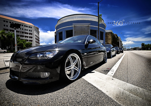 BMW 335i on 360 Forged Spec 5ive   Carz Pics