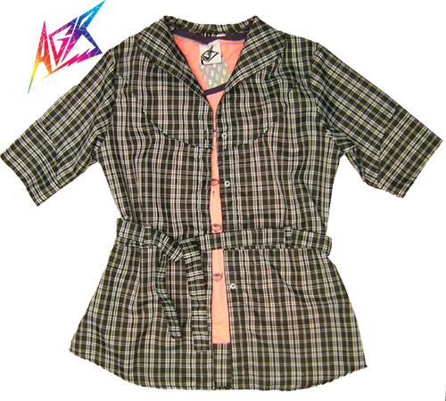 Camisa escocesa moda argentina buenos aires comprar diseñador independiente
