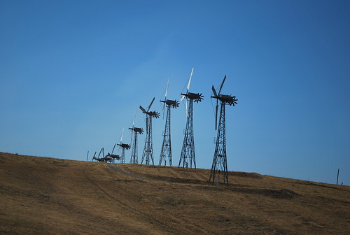 Windmills over the Altamont Pass #3