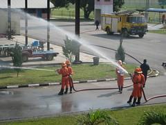 Fire Drill (airforce fireschool) Tags: fire aircraft air fireman bomba airforce api kuantan melayu lelaki kapal seksi tudm kapalterbang
