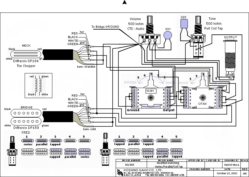 Any have a good schematic for an RG565? - Jemsite Ibanez Rg Wiring Diagram on