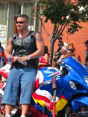 Puerto Rican 2008 Heritage Festival and Parade Jersey City, NJ (Kevin Coles) Tags: summer heritage festival newjersey jerseycity nj august pride parade celebration jersey jc 2008 boricua puertorican marchers crowdfestivities