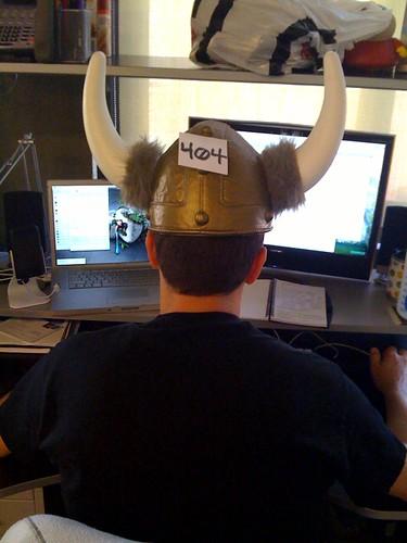 Ferf Wearing the Horns