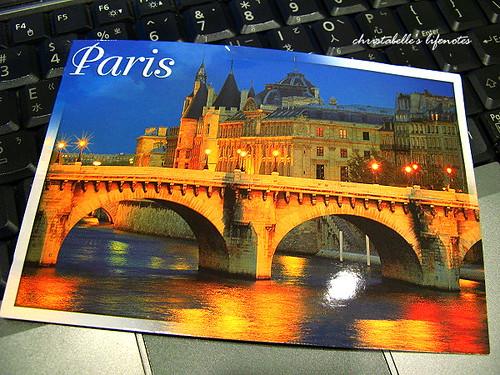 學生的postcard