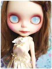 Gina´s custom girl (Sabrina Eras) Tags: bigeyes doll plastic blythe custom ashlette