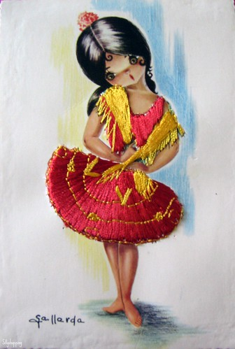 Spanish Gallarda Girl