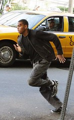 chris brown running